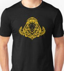 Zodiac Sign Virgo Gold Unisex T-Shirt