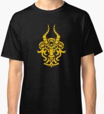Zodiac Sign Capricorn Gold Classic T-Shirt