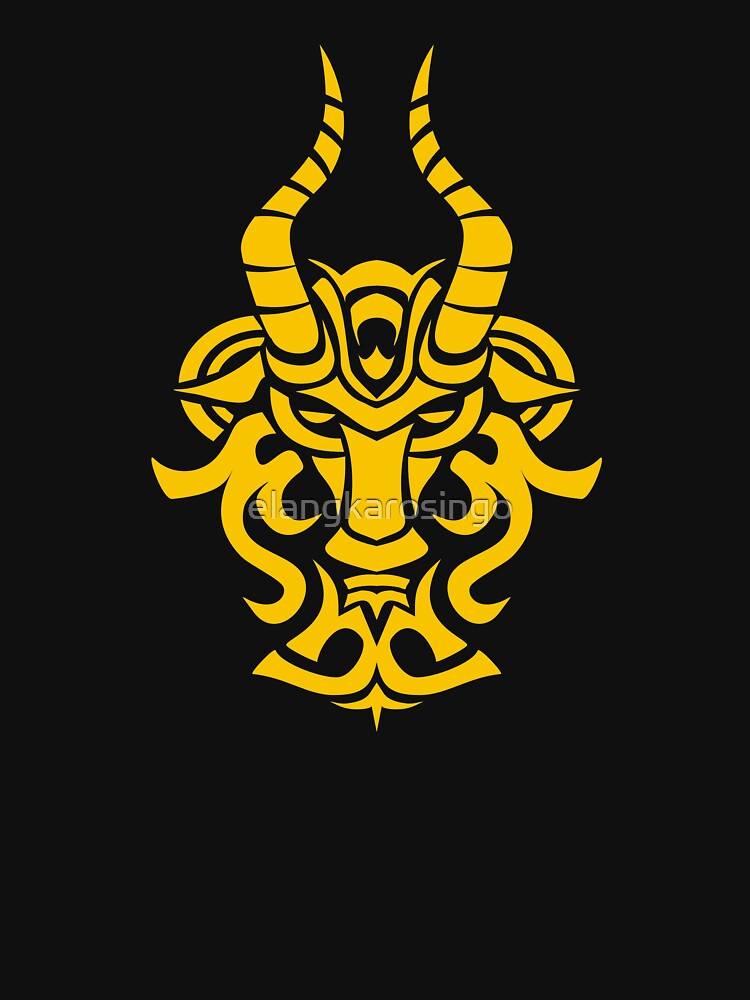 Zodiac Sign Capricorn Gold by elangkarosingo