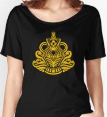 Zodiac Sign Aquarius Gold Women's Relaxed Fit T-Shirt