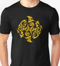 Zodiac Sign Pisces Gold Unisex T-Shirt