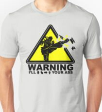 WARNING I will Ryu your ass T-Shirt