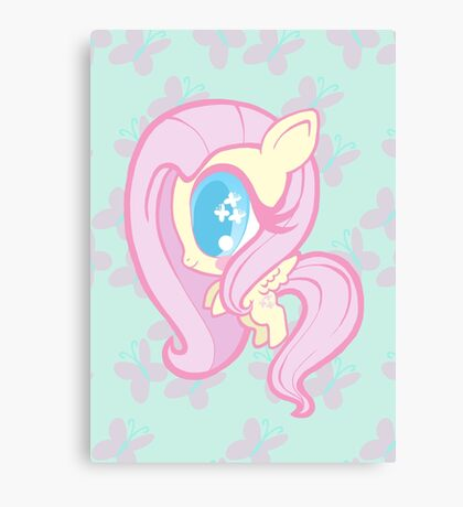 Weeny My Little Pony- Fluttershy Canvas Print