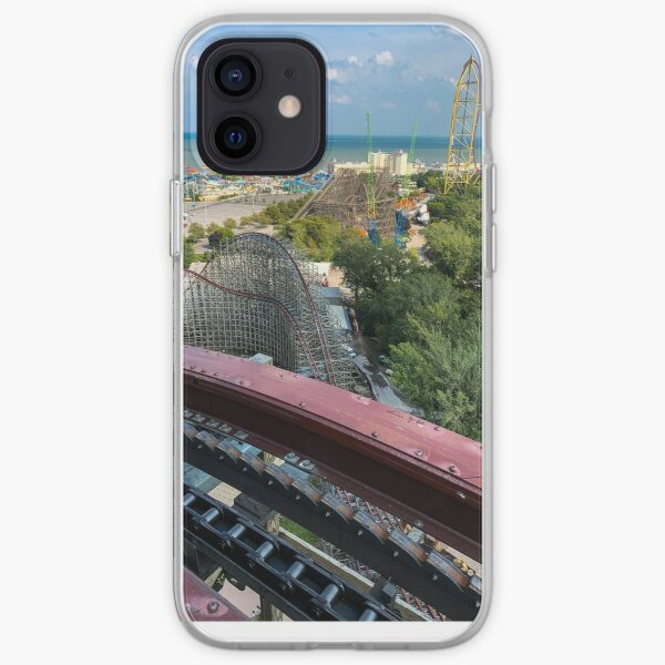 Steel Vengeance Ft. Magnum, Gemini, top thrill dragster, and slingshot  iPhone Soft Case