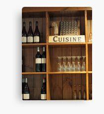 Cuisine  Canvas Print