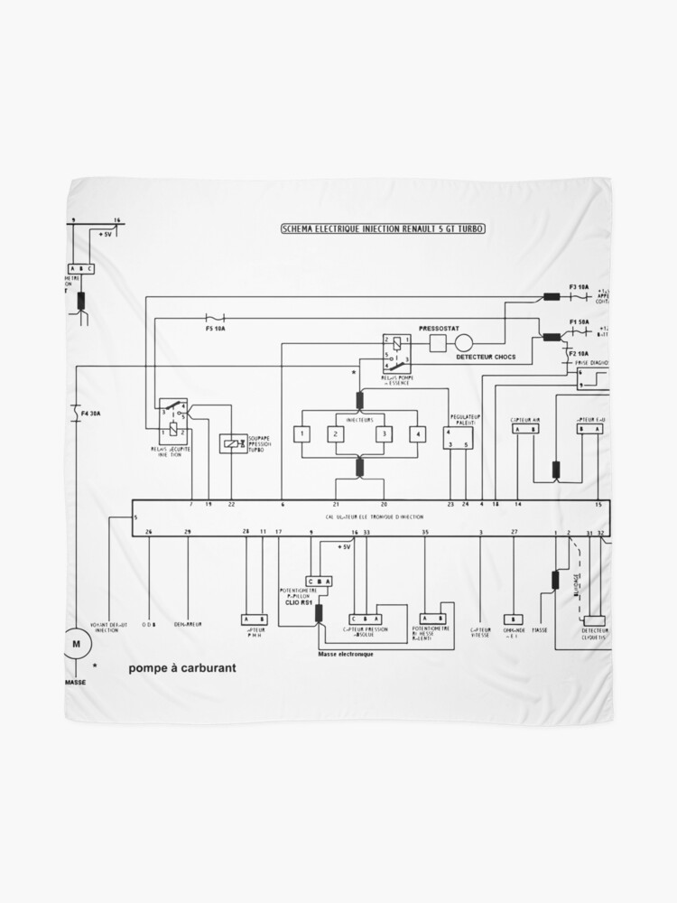 5GT Turbo injection electrical diagram