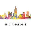 Indianapolis, Indiana Skyline von Marlene Watson