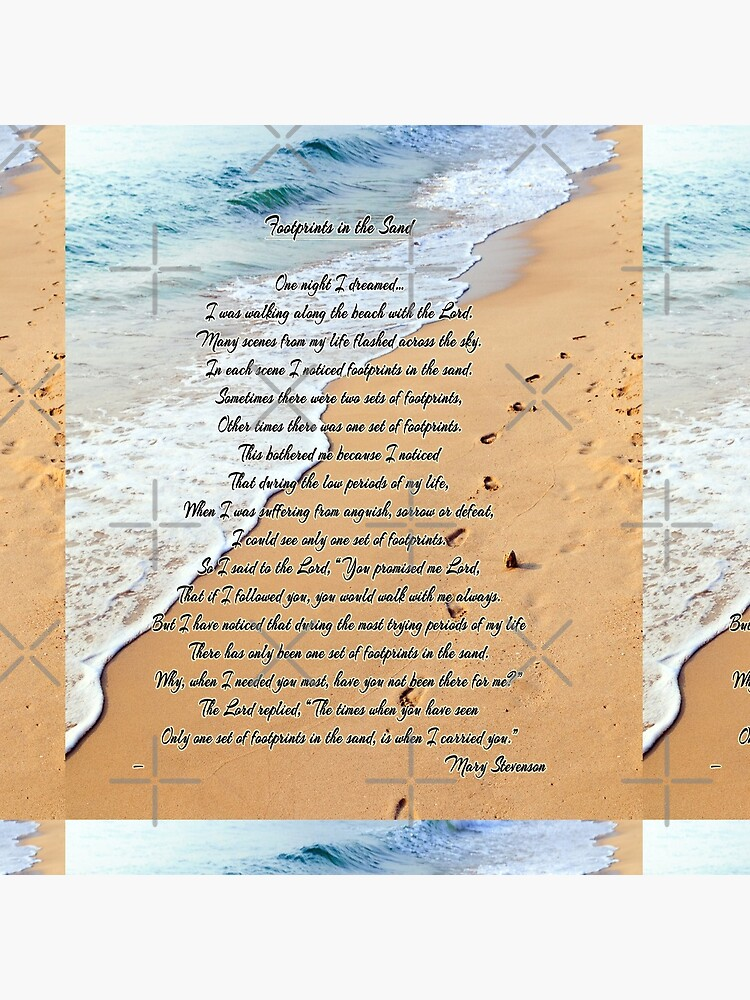 FootPrints in the Sand by Delights