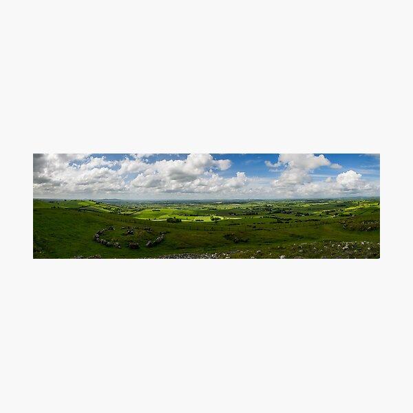 Loughcrew Panorama Photographic Print