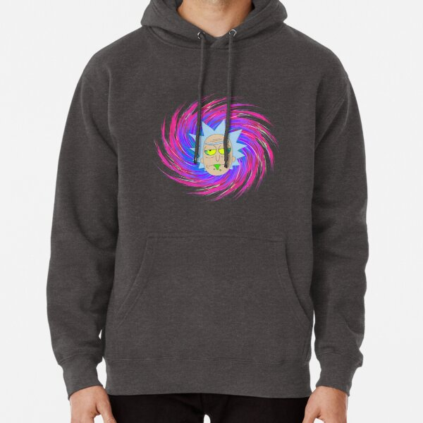 Trippy Drunk Rick - Rick and Morty™ Pullover Hoodie