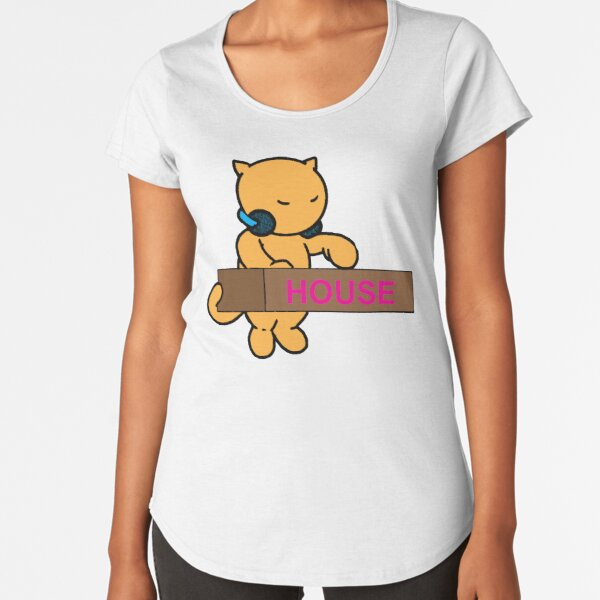 House Kitty Premium Scoop T-Shirt