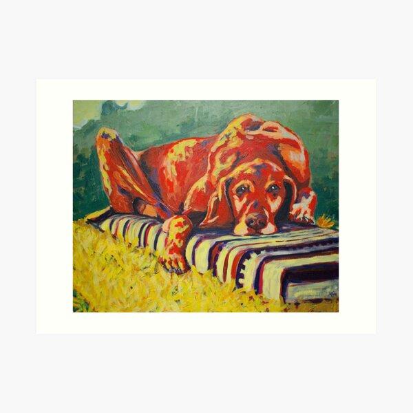My Dead Dog Art Print