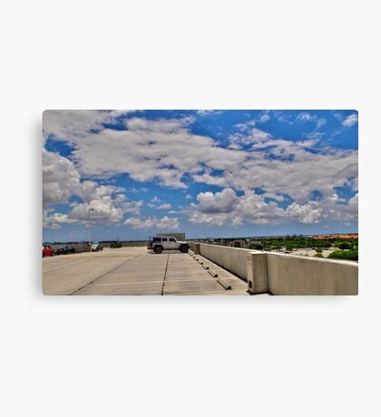 They Paved Paradise........ Canvas Print
