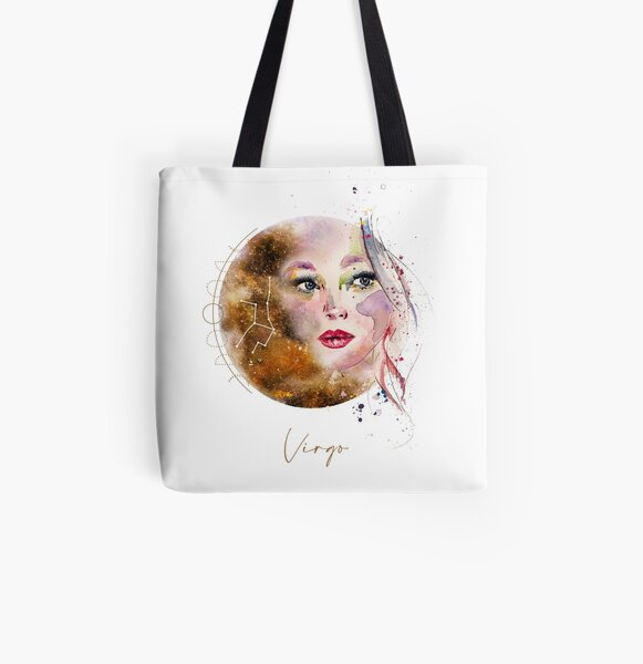 horoscope - Sign Virgo All Over Print Tote Bag
