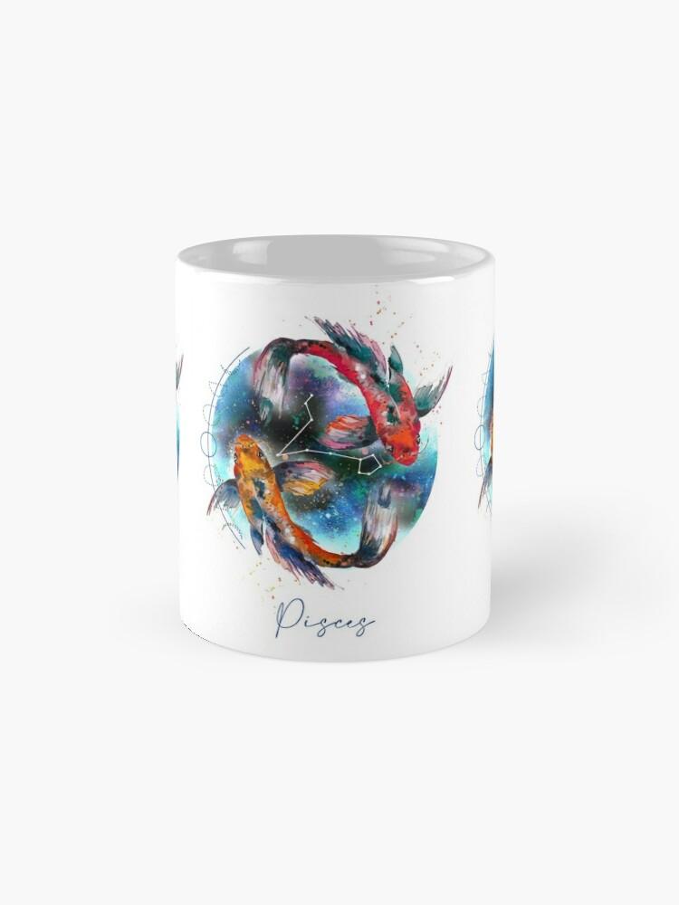 Alternate view of horoscope - Sign Pisces Mug