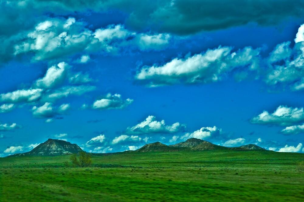 Prairie Sky by Bryan D. Spellman
