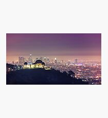 Los Angeles Cityscape Photographic Print