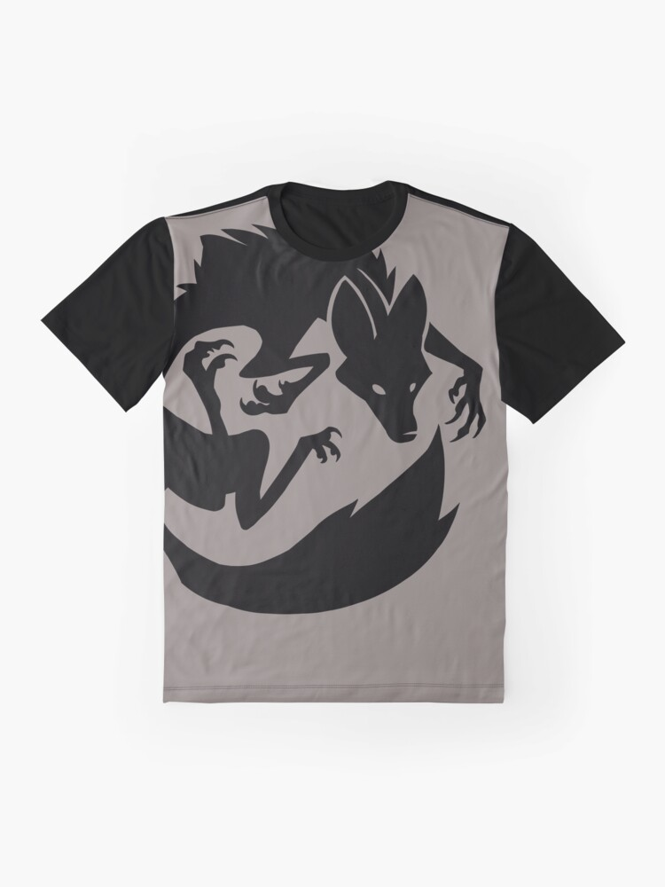Alternate view of Starving Fox Graphic T-Shirt