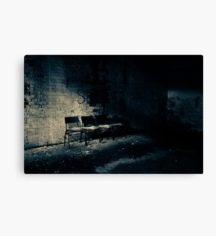 S is for Shadow Canvas Print