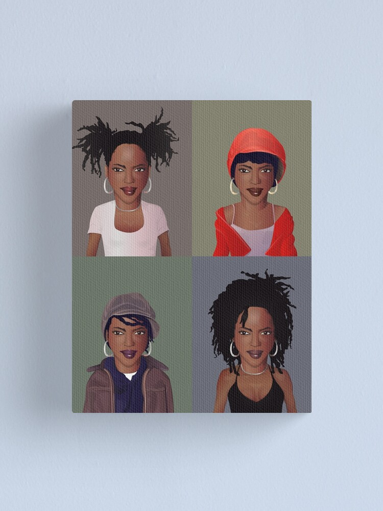 Alternate view of The Evolution of Lauryn Hill Canvas Print
