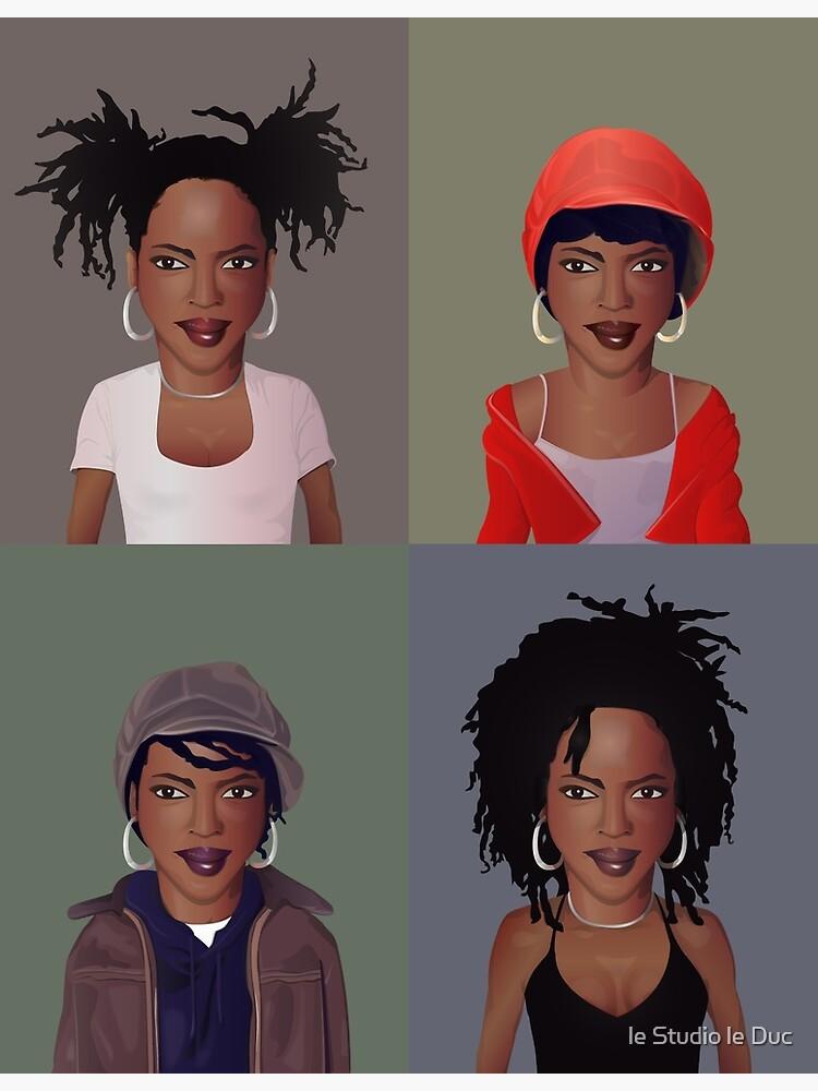 The Evolution of Lauryn Hill by mrbirthmark