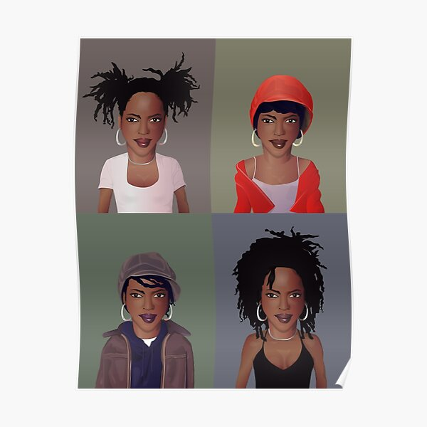 The Evolution of Lauryn Hill Poster