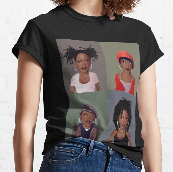 The Evolution of Lauryn Hill Classic T-Shirt