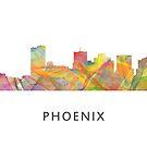 Phoenix Arizona Skyline - WB1 von Marlene Watson