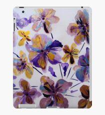 purple_and_gold_flora_by_geaausten-dk iPad Case/Skin