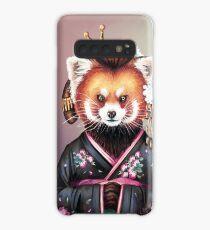 Kimono panda rouge Coque et skin adhésive Samsung Galaxy