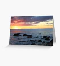 Boulders at Hallett cove Greeting Card