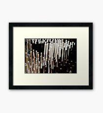 Chop Sticks Framed Print