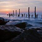 Delaware Bay Sunrise by Michael Mill
