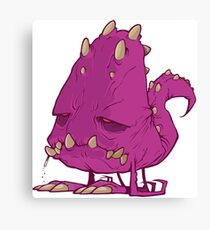 Monster-vector Canvas Print