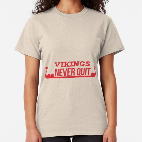 Winners Never Quit Gift for Sports Fan Graphic T Shirt Unisex Tee Women Men