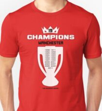 19x Champions Unisex T-Shirt