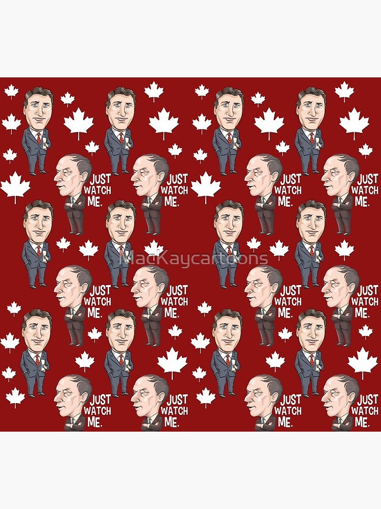 Prime Ministers Trudeau by MacKaycartoons