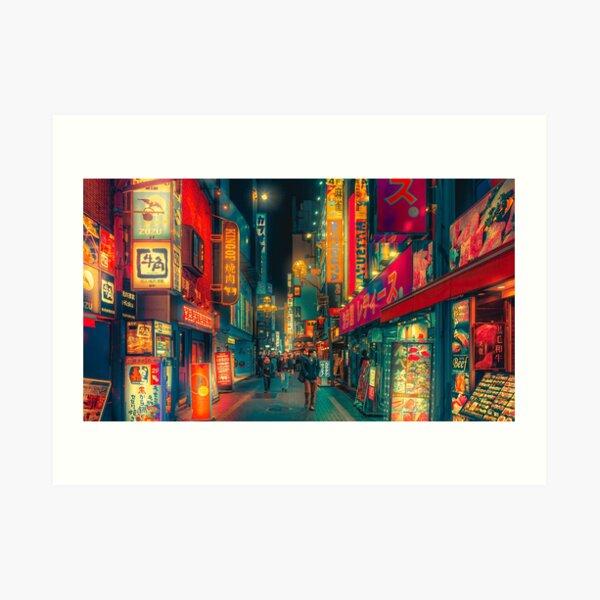 Hive of Wonder - Japan Night Photo Art Print