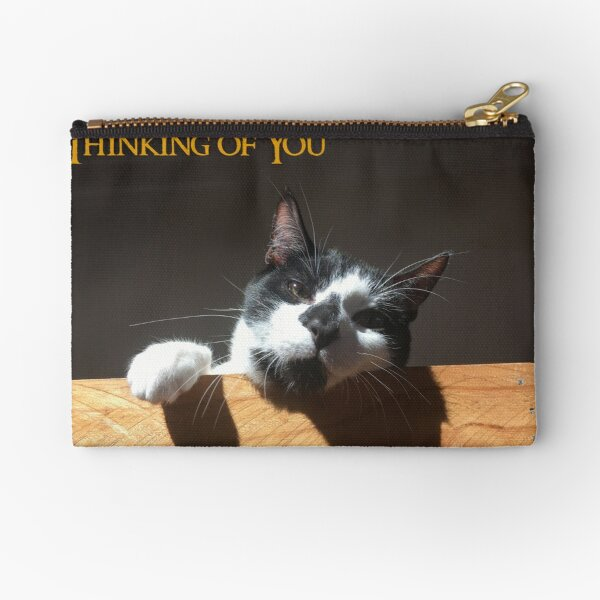 Thinking of You  Zipper Pouch