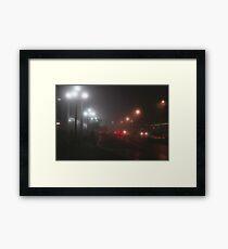 Night Bus Framed Print