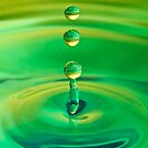Water Drops 1 by Val Saxby