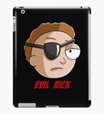 evil Morty iPad Case/Skin