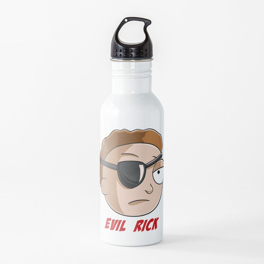 evil Morty Water Bottle
