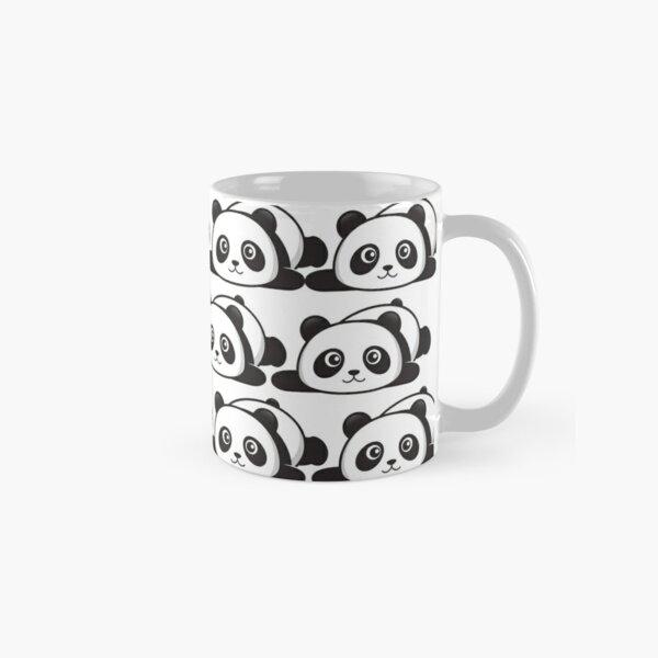 cute lazy panda Classic Mug