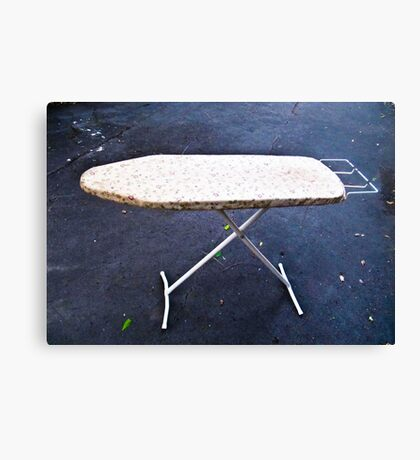 The Ironing Board Canvas Print