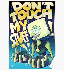 Peridot with Background Poster