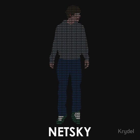 TShirtGifter presents: Netsky Typography