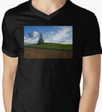 Unique Men's V-Neck T-Shirt