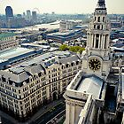 The Clocktower at St. Paul's by Sherie LaPrade