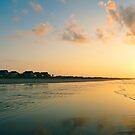 Bubblegum Skies - Before Sunrise at Isle of Palms by Sherie LaPrade